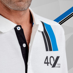 POLO HOMME MC ALPINE 78